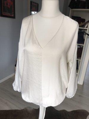 Alba Moda Bluzka przez głowę w kolorze białej wełny Jedwab