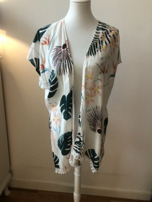 Blusa de túnica multicolor