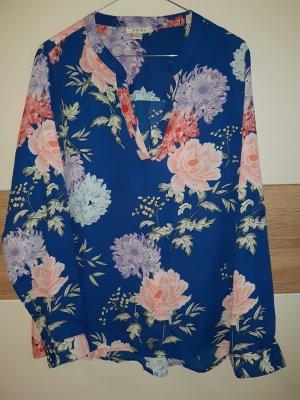 Amisu Tunique-blouse vieux rose-bleu