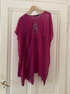 Antik Batik Tunique-blouse rose