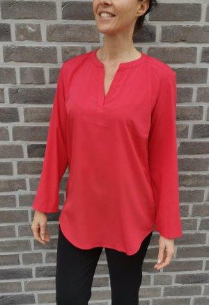 Blusa larga rojo claro