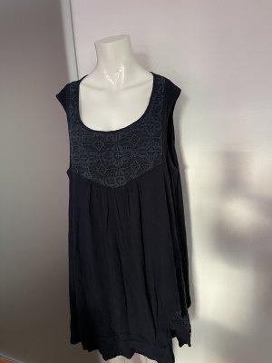 Ulla Popken Oversized Blouse dark blue