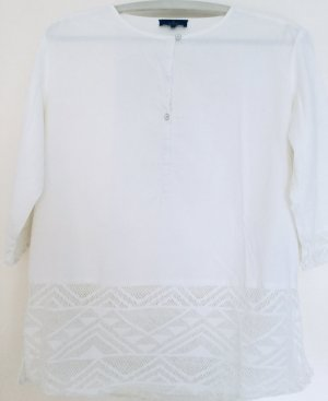 Campus by Marc O'Polo Tunic Blouse natural white cotton