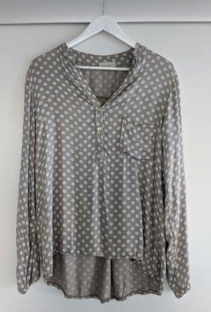 """Tunika Bluse """"Dots"""" ~ von Gr. 36 - 42 zu tragen"""