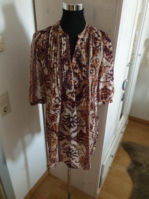 Woman for H&M Blouse Dress oatmeal-purple
