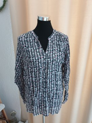 Concept K Blusa a tunica bianco-nero