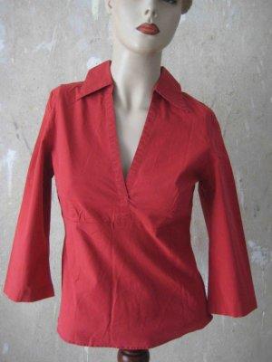 Tunika-Bluse in rot von Zero - casual Look