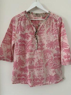 Maison Scotch Tunique-blouse crème-rosé