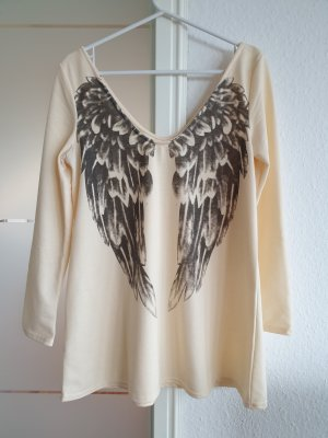 Tunika / Bluse mit mit Flügeln auf dem Rücken