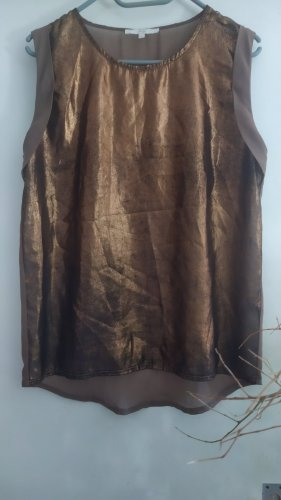 Tunic black-bronze-colored