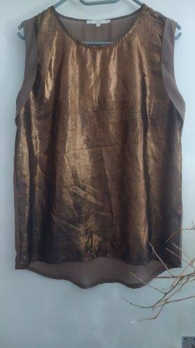 Tunique de plage noir-bronze