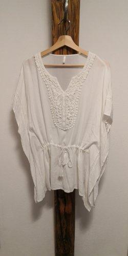 Vero Moda Tunique blanc-blanc cassé