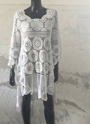 Tunic Dress white cotton