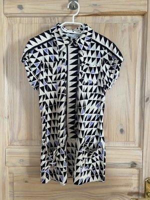 Diane von Fürstenberg Tunique-blouse multicolore soie