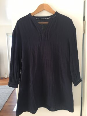 Tunika dunkelblau Zara Gr. M