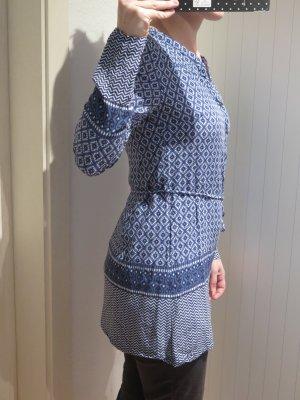 Zero Robe tunique bleu viscose