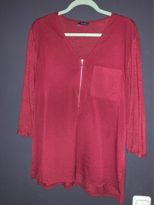 Yessica Shirt Tunic carmine-bordeaux