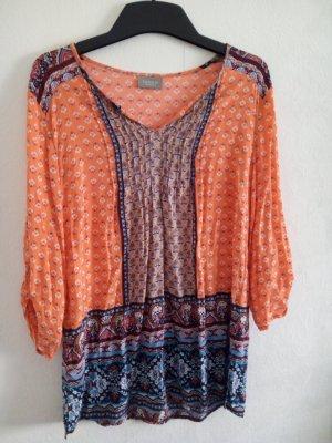 Canda Blusa a tunica arancione chiaro