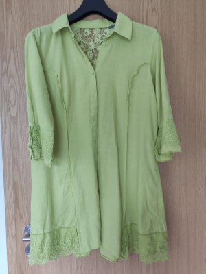 Caro Tunic Dress lime yellow