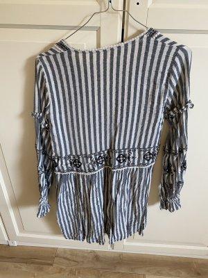 Tunika gestreift Kleid Sommer chic