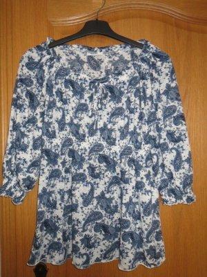 Yessica Shirt Tunic white-blue