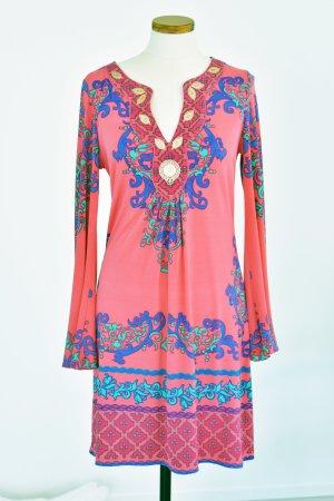 Hale Bob Vestido tipo túnica multicolor