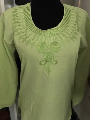 Shirt Tunic lime-green
