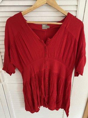 Asos Vestido tipo túnica rojo oscuro-rojo