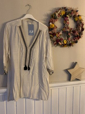 Crash Blouse oatmeal viscose