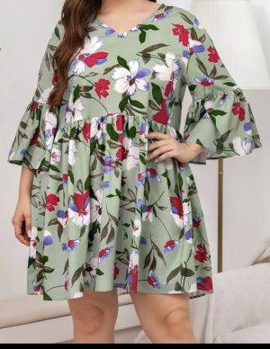 Vestido tipo túnica multicolor
