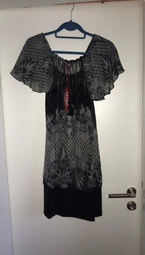 edc Tunic Dress grey-black