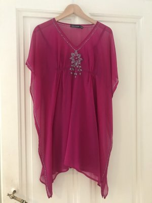 Antik Batik Robe tunique magenta