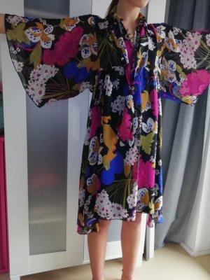 Nolita Vestido tipo túnica multicolor Seda