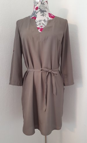 Lascana Vestido tipo túnica gris