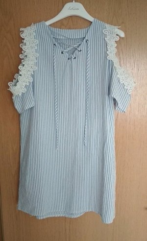 Tunika Kleid# Cut Out Kleid