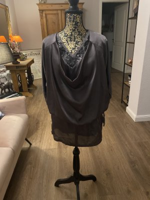Tunika Kleid dunkel grau Gr. 36