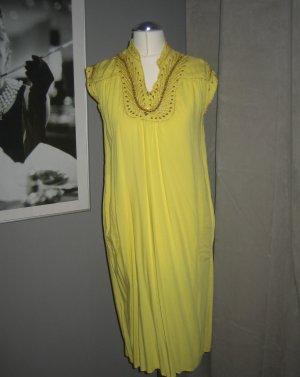 Vestido Hippie amarillo