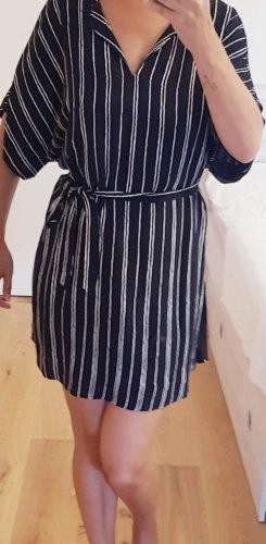 Canda Premium Sukienka tunika biały-czarny