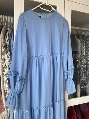 Tunika Kleid in Baby blau