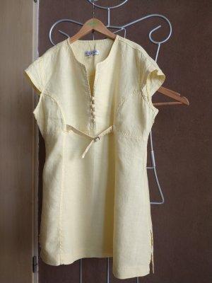 Vestido tipo túnica amarillo