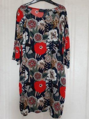 Tunika Kleid mit Blumenmuster