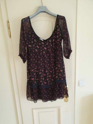 Tunika-Kleid mit Spitze, Gr. 38