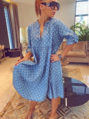 Tunic Dress light blue
