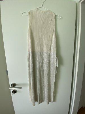 Tunika Kleid Silber und beige