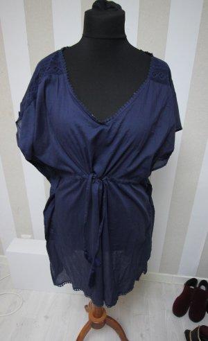 Sukienka tunika ciemnoniebieski