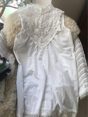 Abito a tunica bianco-bianco sporco