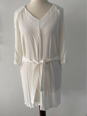 American Vintage Tunique-blouse blanc cassé viscose