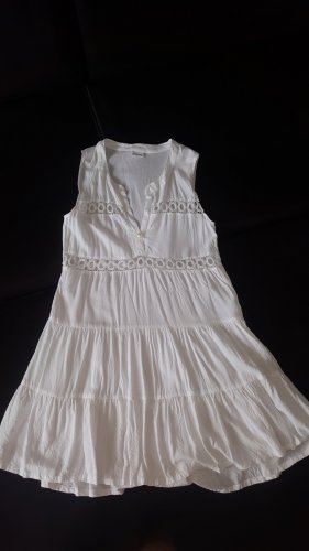 Lascana Vestido tipo túnica blanco