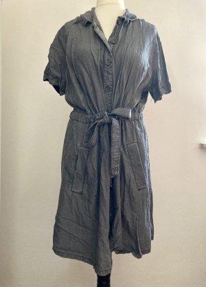 Yessica Vestido tipo túnica gris oscuro-gris antracita