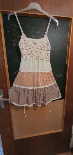 Sukienka tunika piaskowy brąz-jasnobrązowy